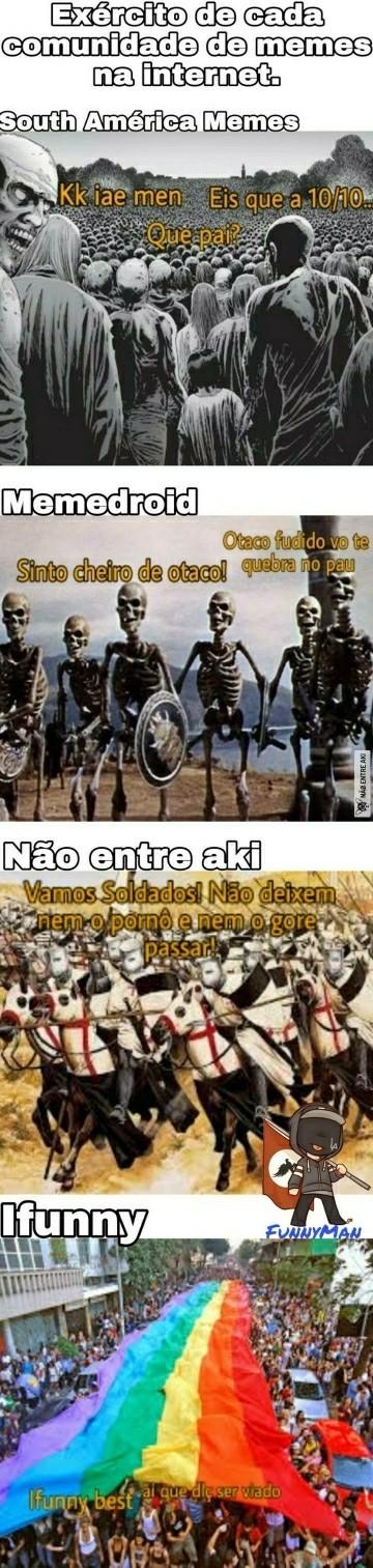Sou um esqueleto templário - meme