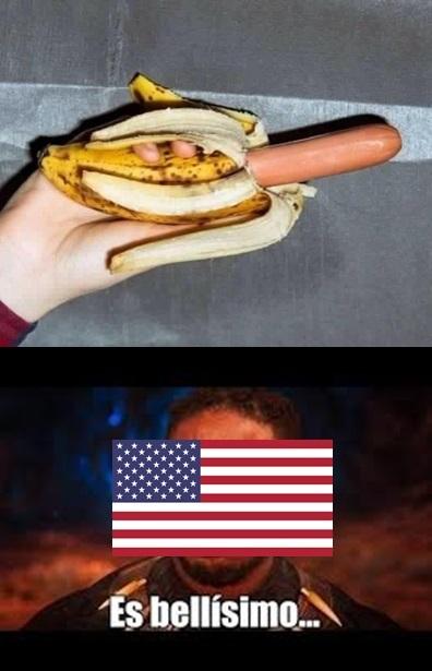 comida saludable,versión usa - meme