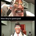 That Medic is LOUD and UGLY