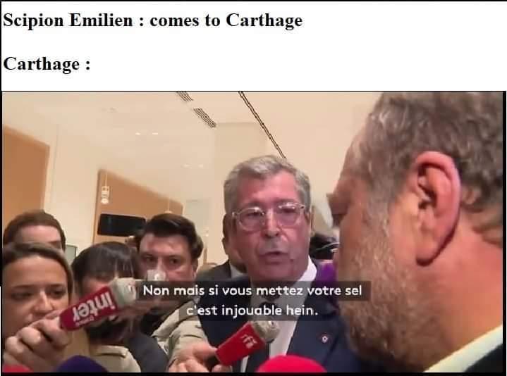Delenda Carthago - meme