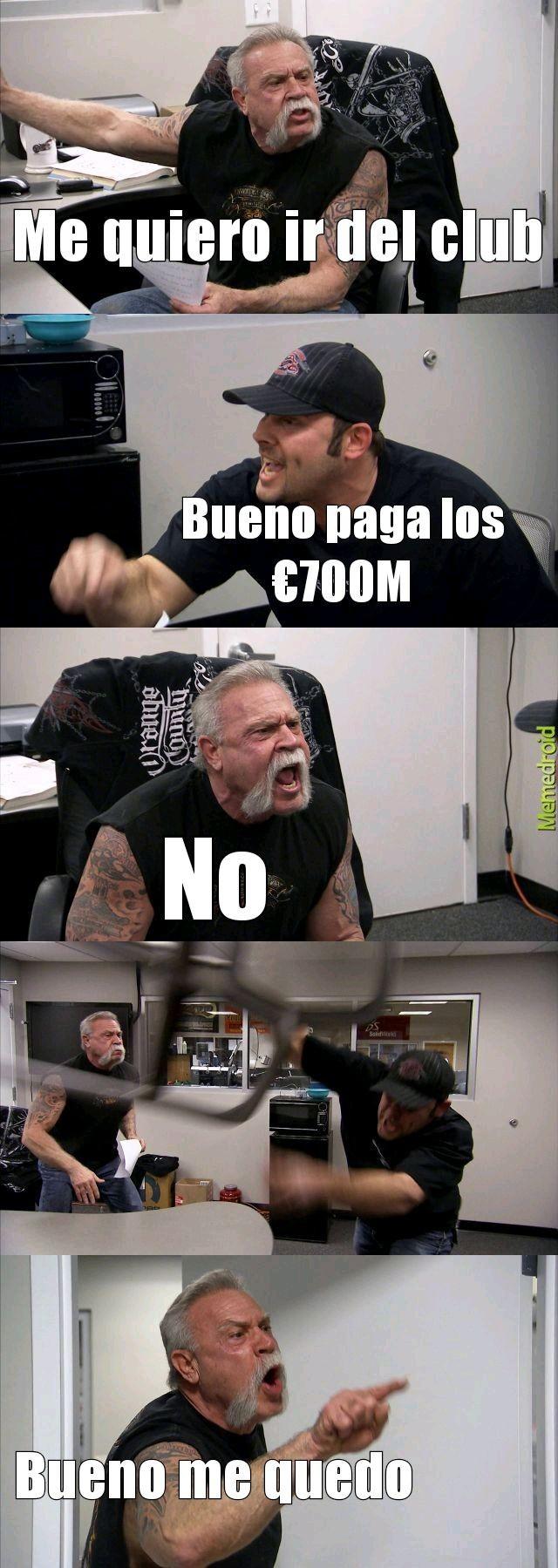 Pobre Lio - meme