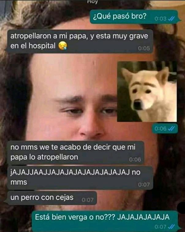 Perrito truste - meme