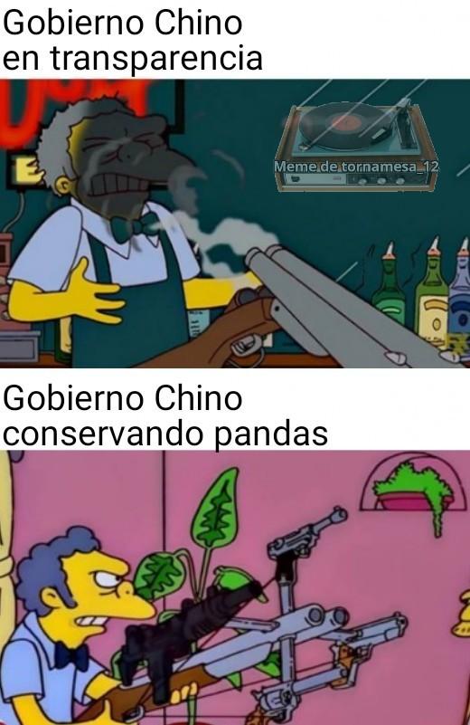 Los pandas son demasiados Tiernos. y no eso no me hace furro - meme