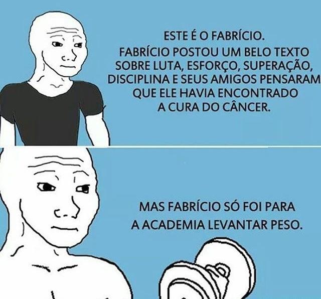 porra Fabrício - meme