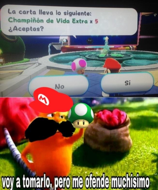 Super Mario Galaxy - meme