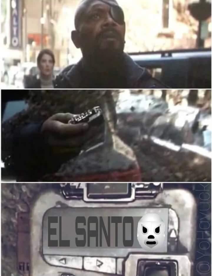 El santo - meme