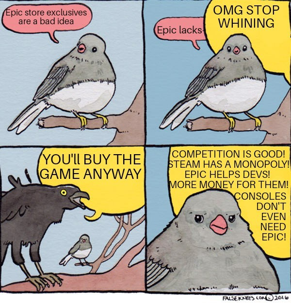 Valid points often fall on deaf ears - meme