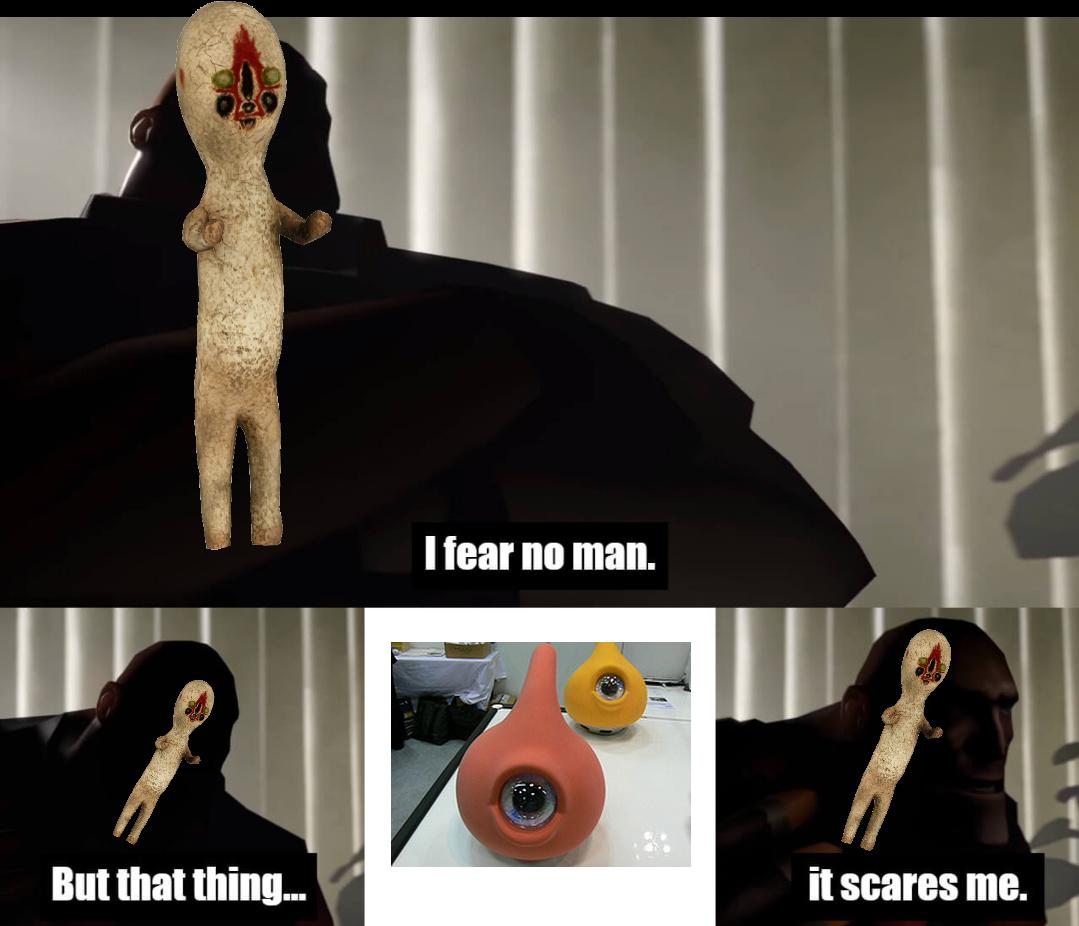 It scares me... - meme