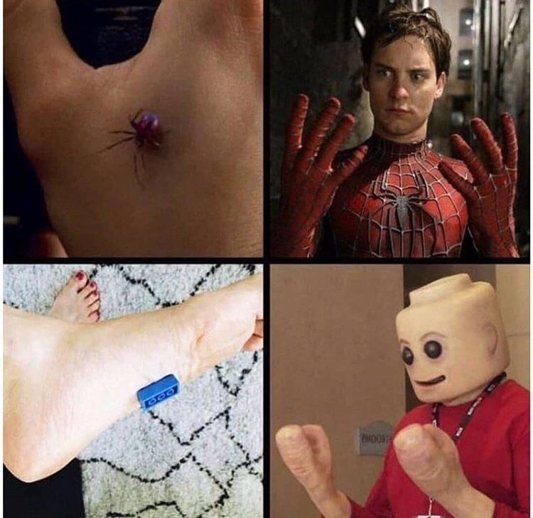 Lego-Man to the rescue - meme