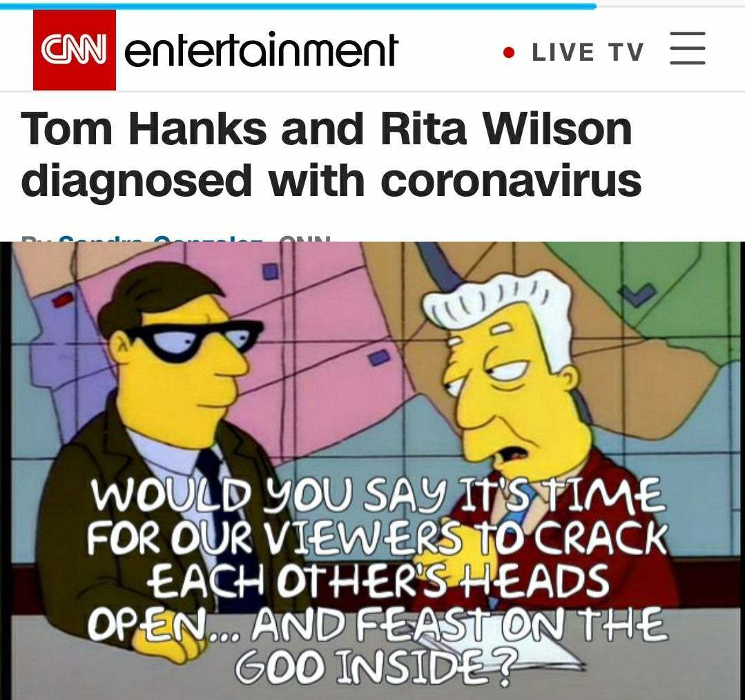 I just like the simpsons - meme