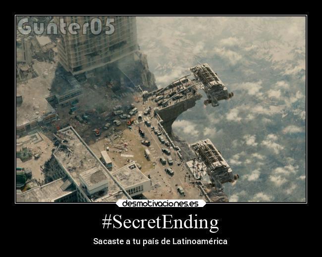 #SecretEnding - meme