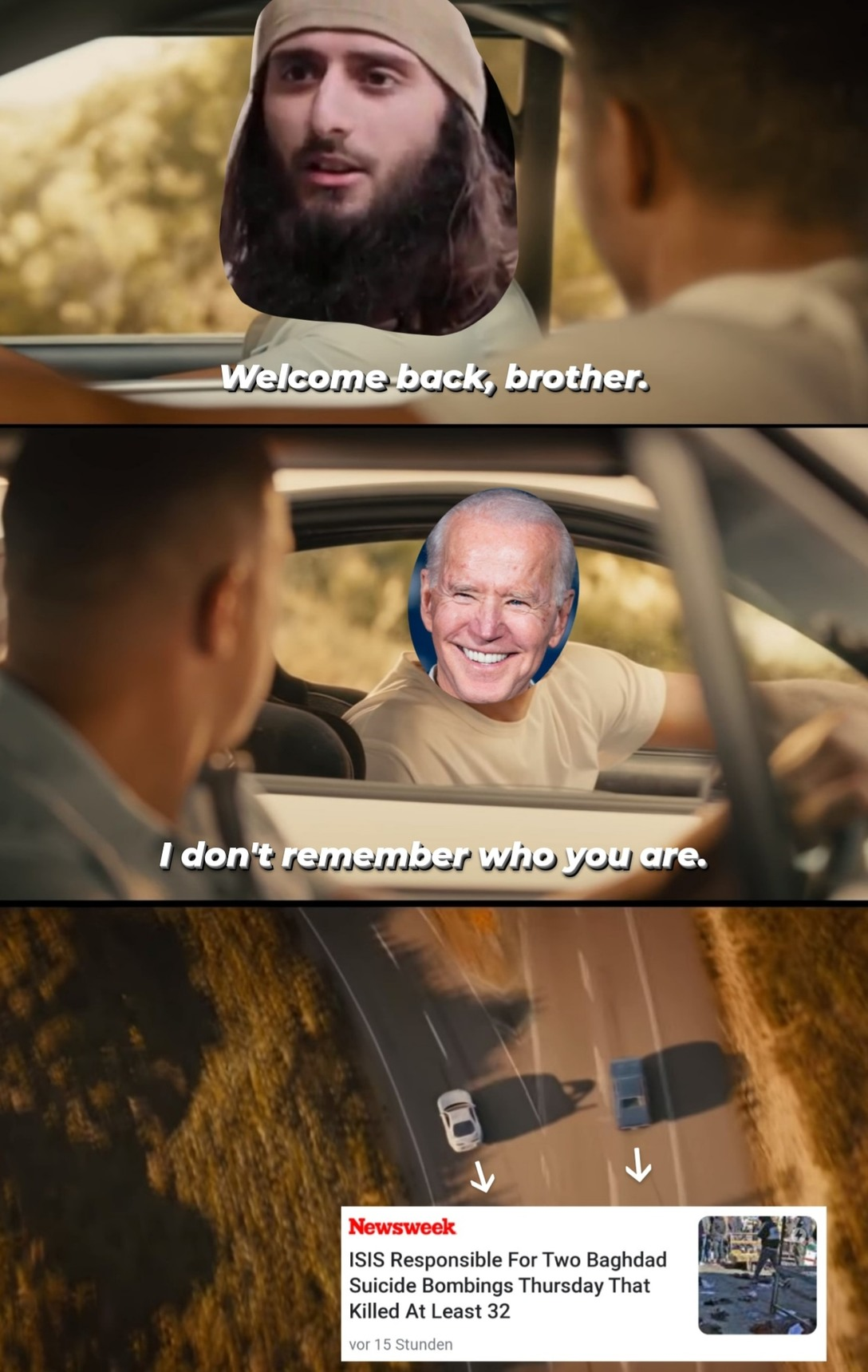 It's been a long day, without you my friend. - meme