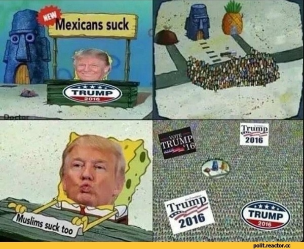 Mexicans or Muslims? - meme
