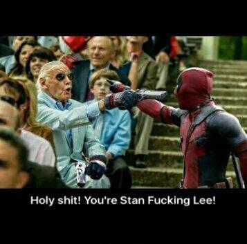 Deadpool meets Stan the man - meme
