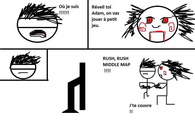 Extrait de Saw 6 (saucisse) - meme