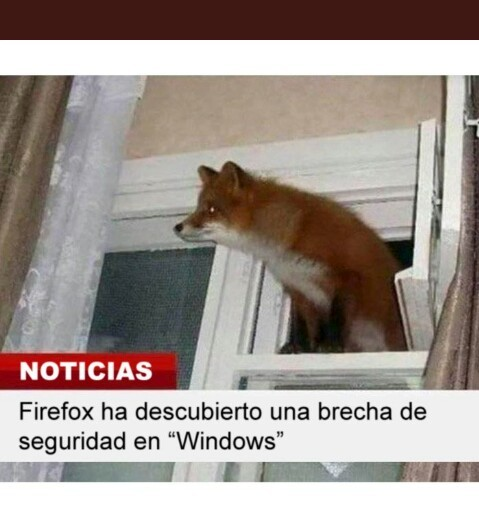 Firefox y Windows - meme