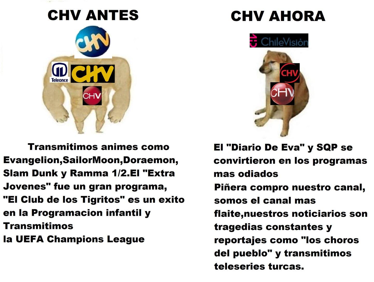 Lo mismo que TVN - meme