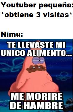 La polémica de Nimu en fin, a explotarla - meme