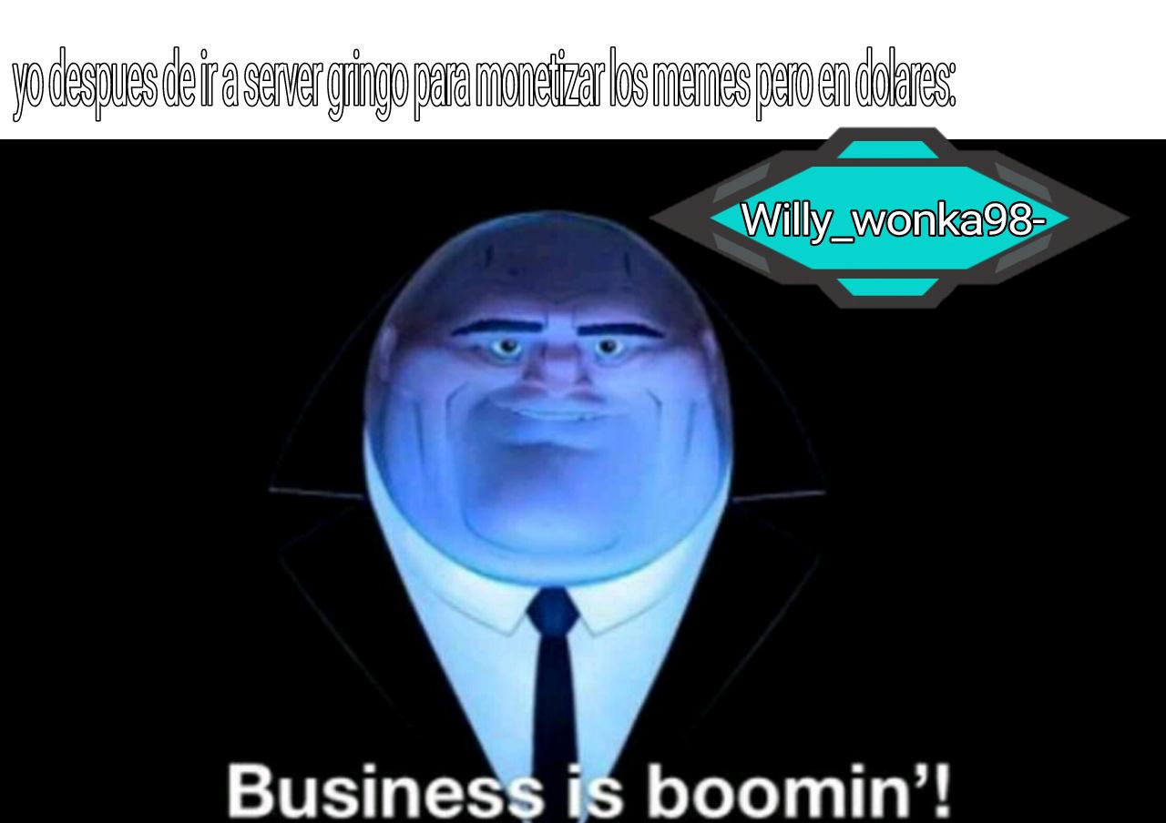 Ja, pobres ya estoy monetizando y ya tengo casi 20 dolares - meme