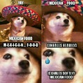 Give the good boi some Mexican food!