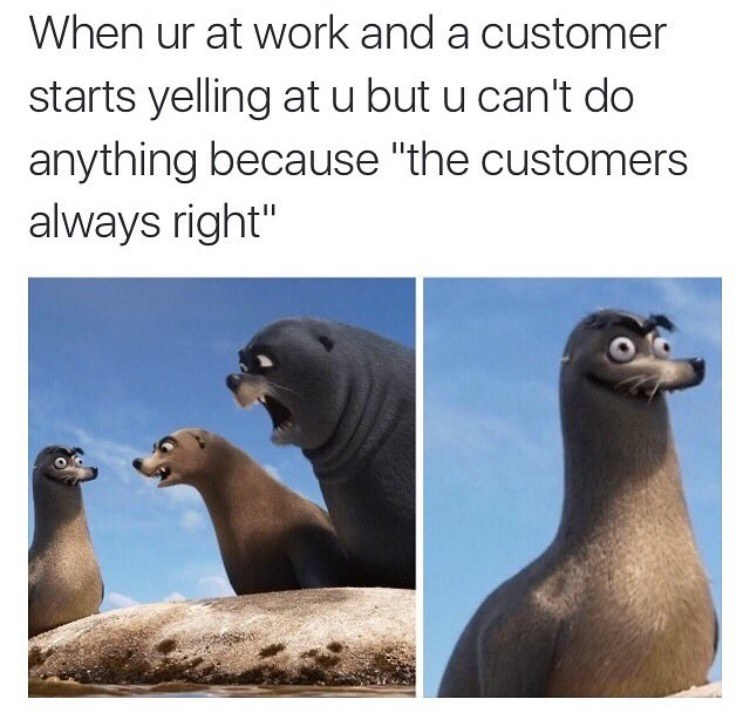 Can I speak to the manager? - meme