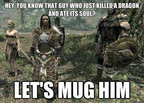 Clever baddies. - meme