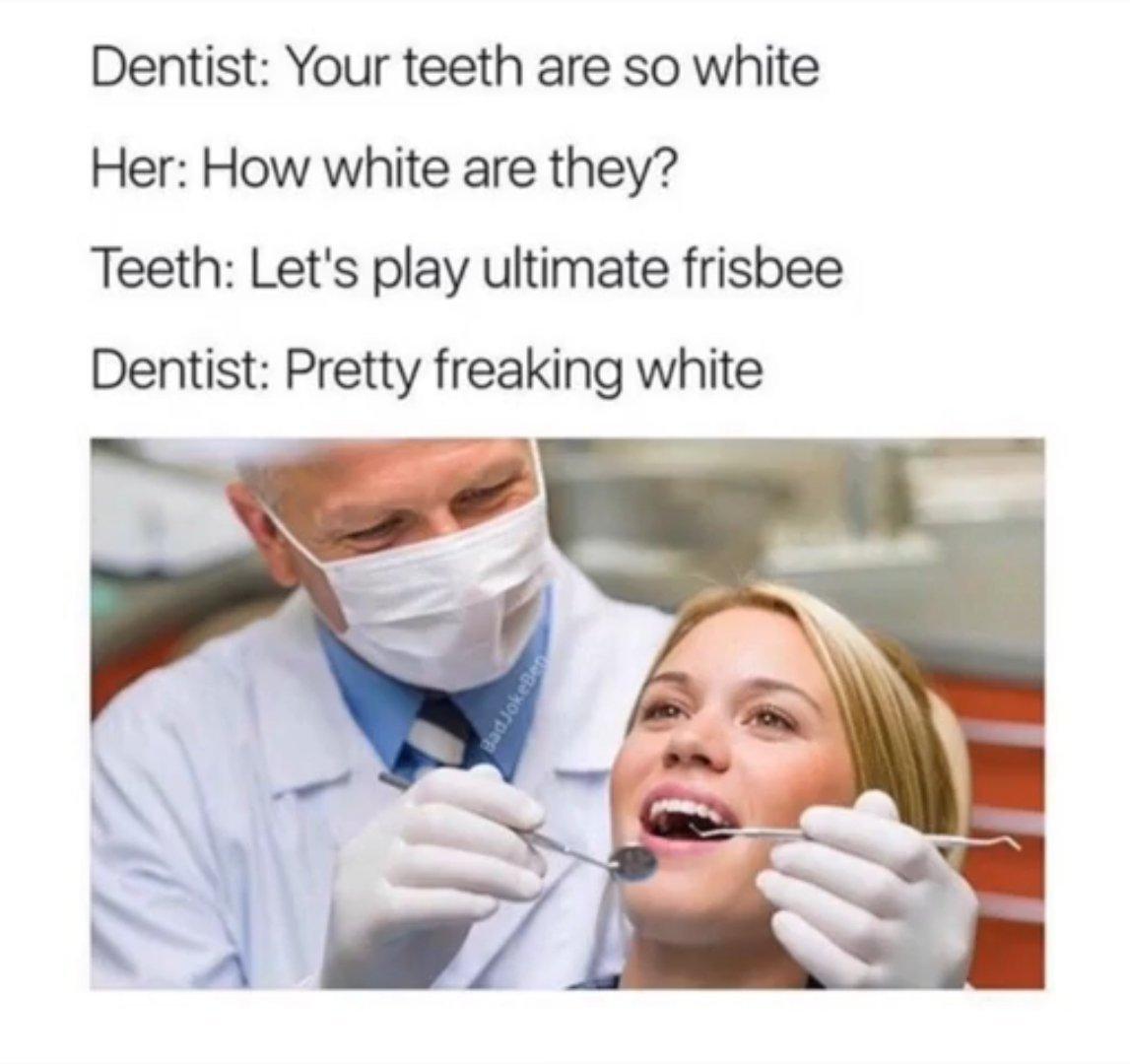I have no teeth - meme