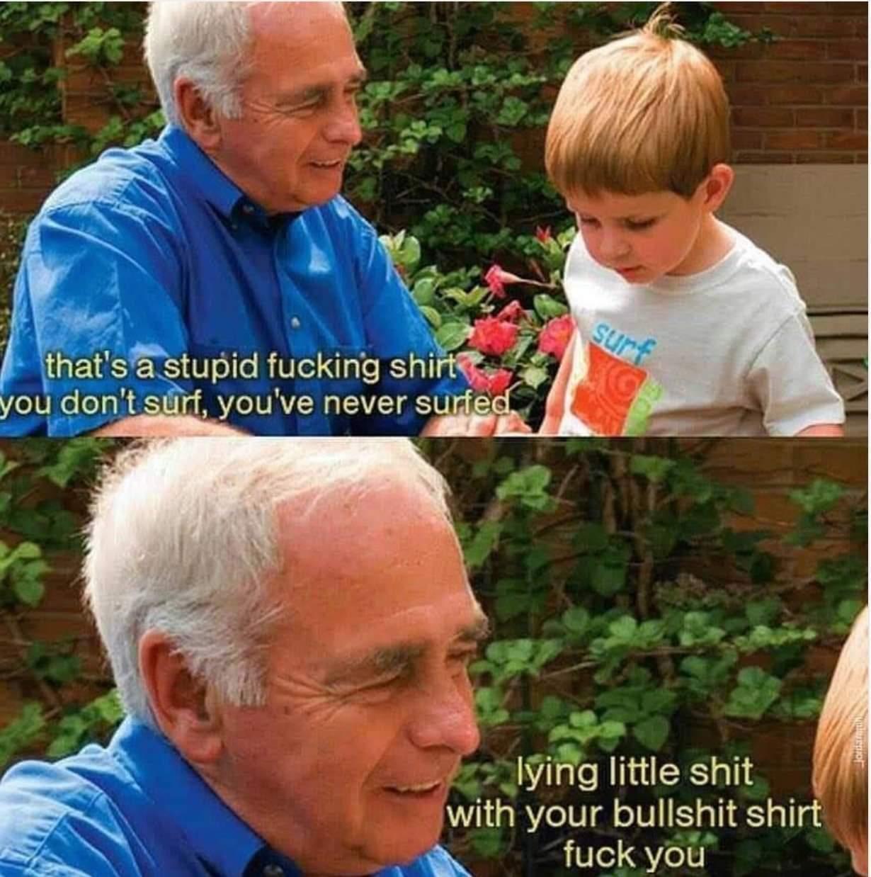Old people be like - meme