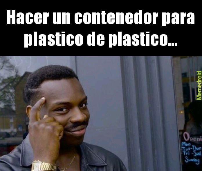 Plastico - meme