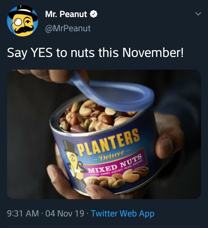 Officially #blocked Mr Nut. - meme