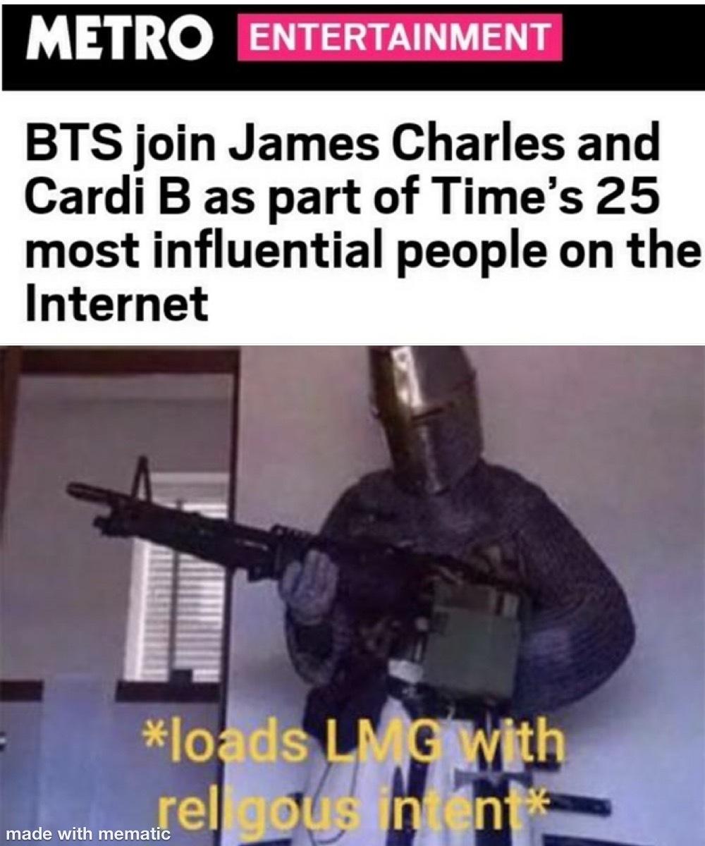 do i hear a CRUSADE - meme