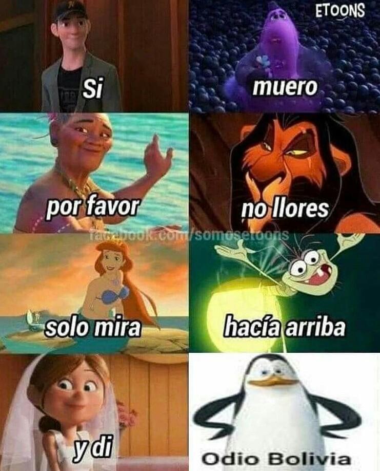 Odio Bolivia - meme