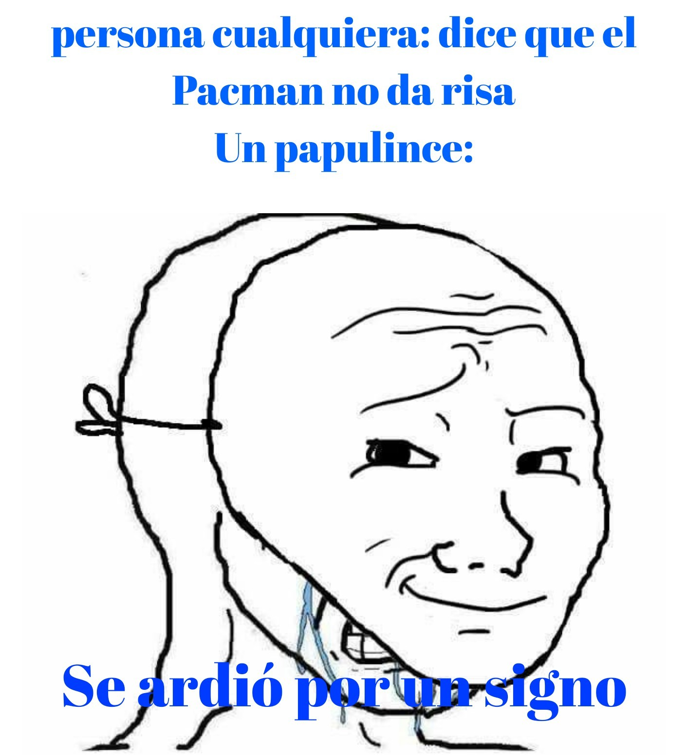 Putos papulinces - meme