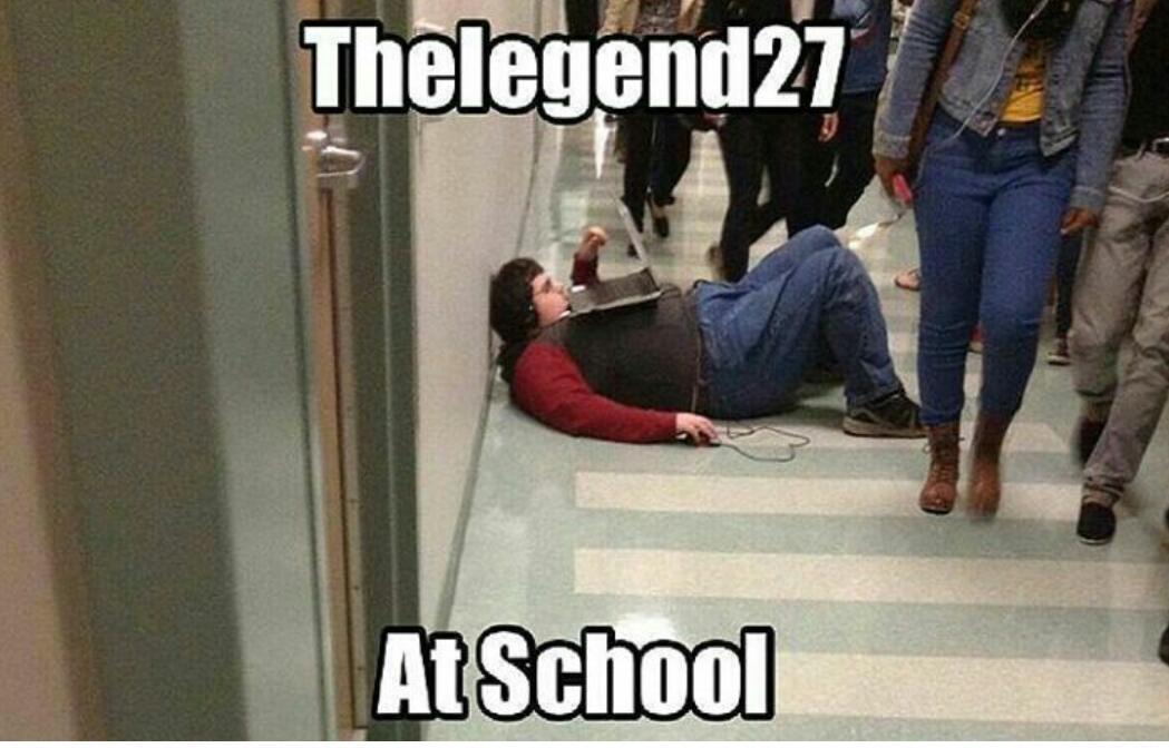 It is the legend27 - meme