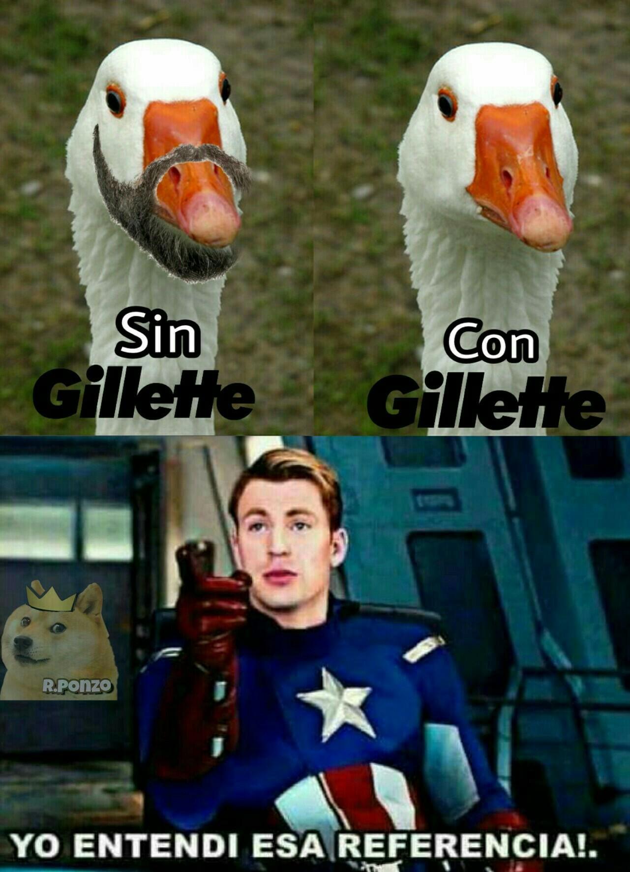 Gillette - meme