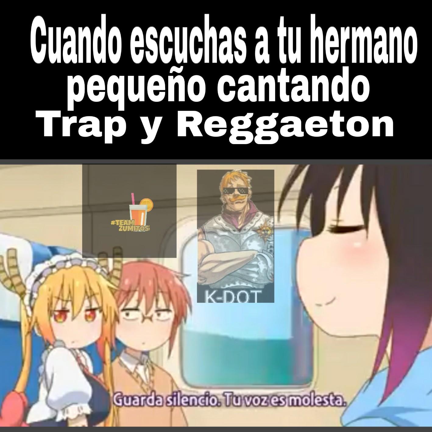 Al titulo no le gusta el Reggaeton - meme