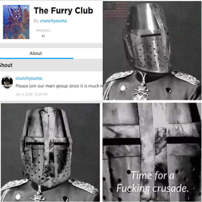 Crusade time - meme