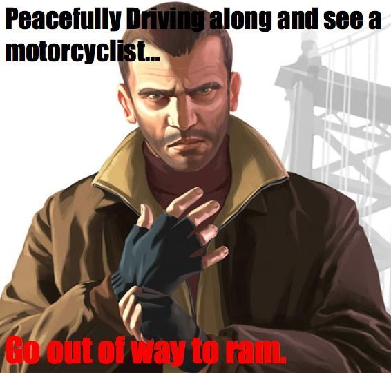 why do i love doing this so much in any GTA game or any game in general? - meme