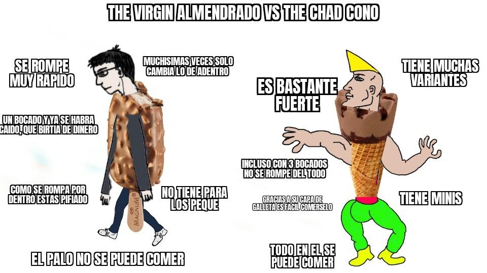 The chad cono - meme