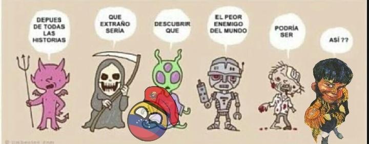 Simón bolivar, un crack - meme