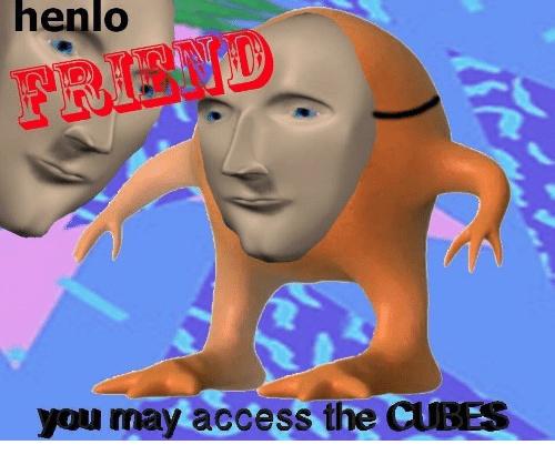 c u b e s - meme