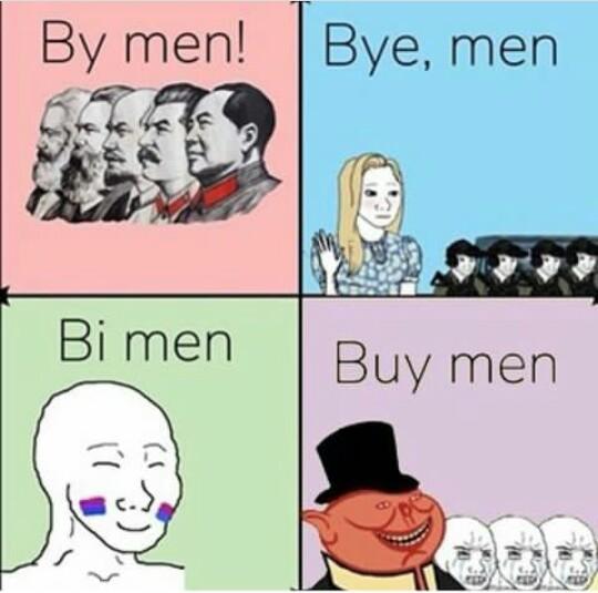 Posiciones politicas - meme