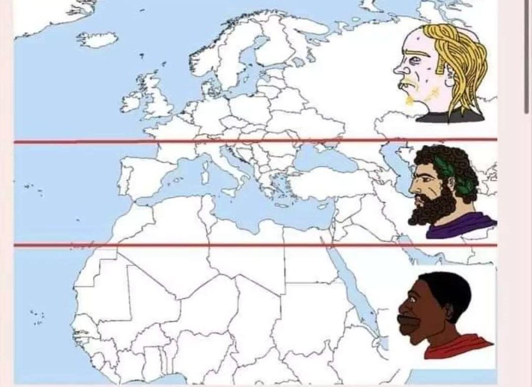 Average Europeo - meme