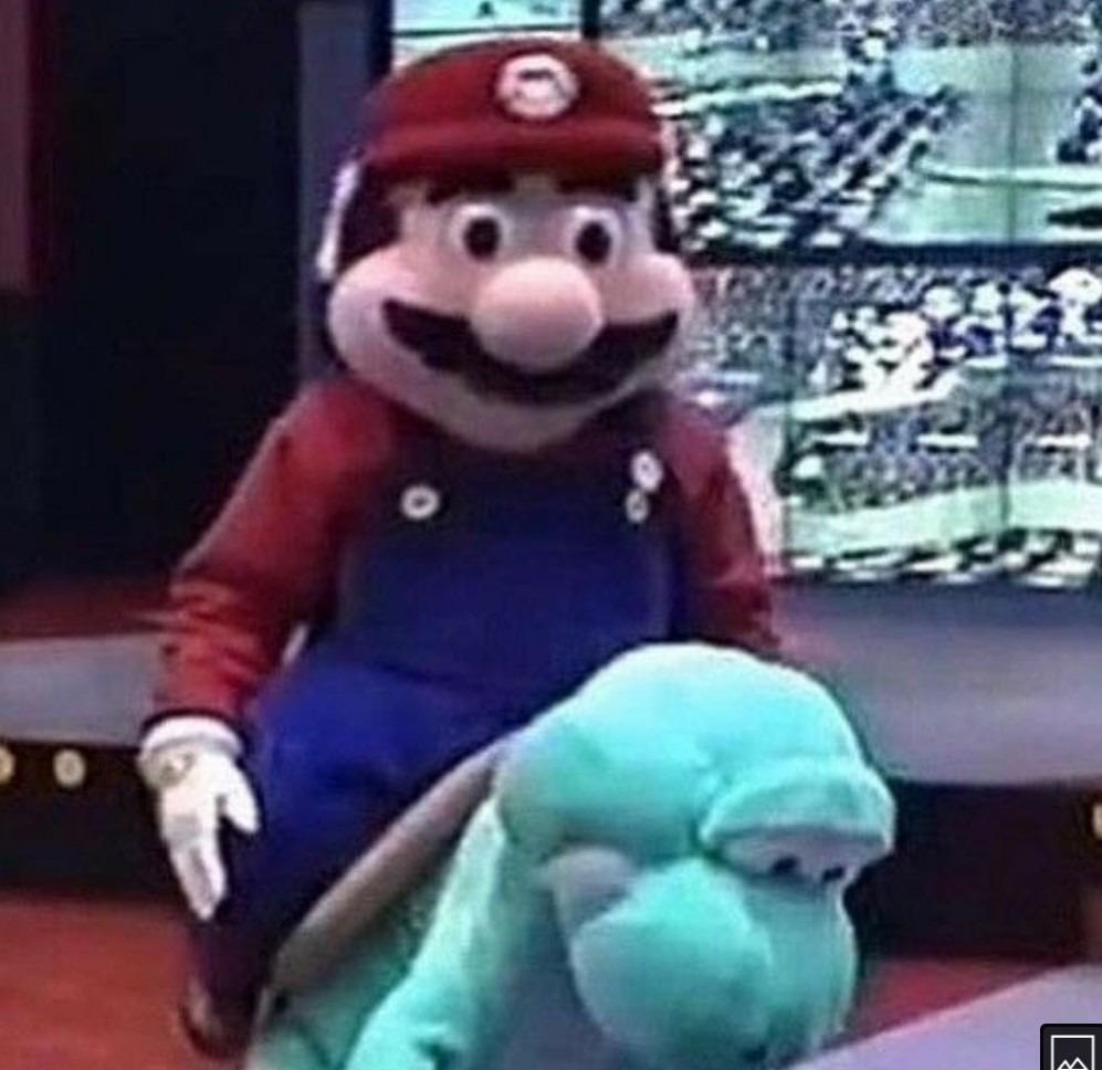 ¿Por esta tan triste Yoshi? - meme