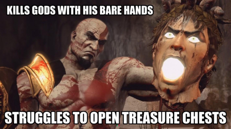 Kratos my man !q - meme