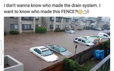 Fence - meme