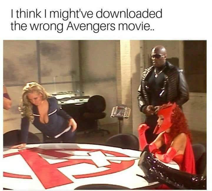 Is that Maria Hill at the left ? - meme
