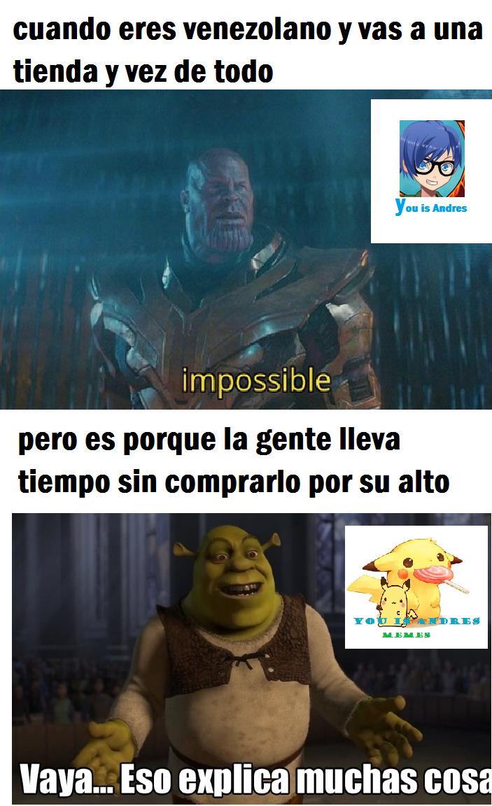 en venezuela pasa esto - meme