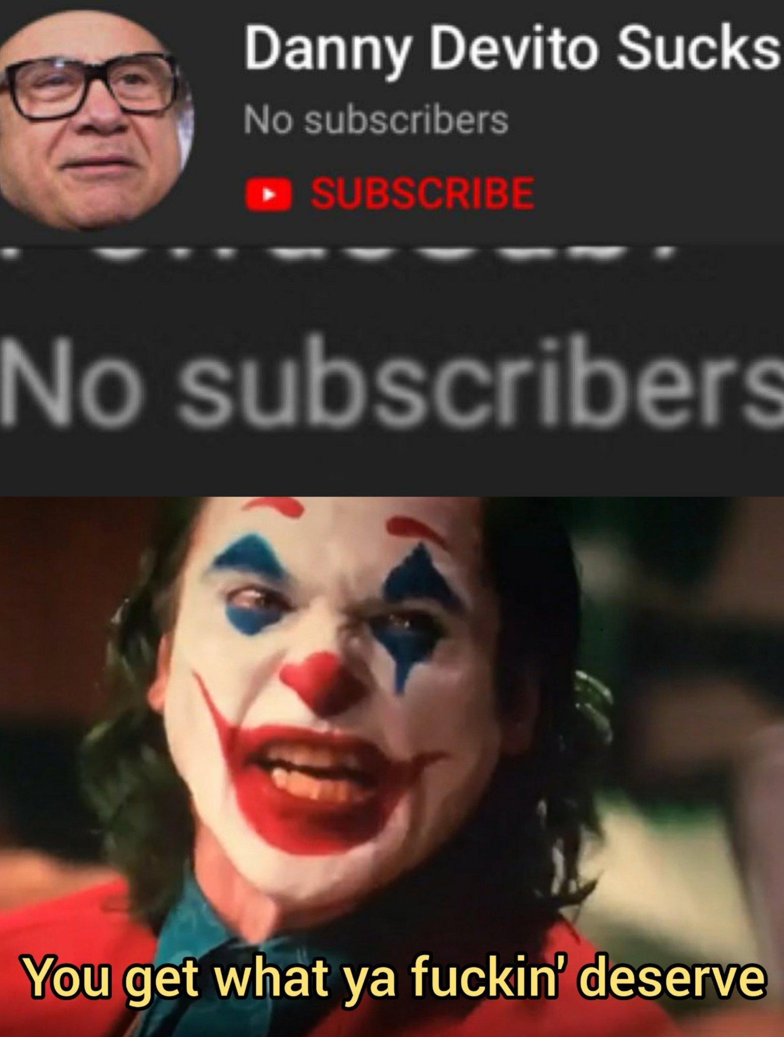 No subs - meme