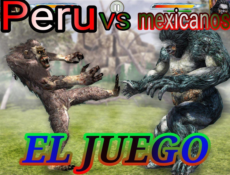 Peruanos vs mexicanos - meme